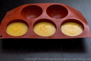Ma tarte au citron meringuée en dôme individuel