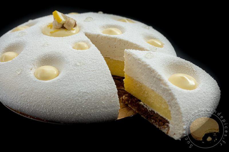 une merveille d entremets le citron pralin sucre d 39 orge et pain d 39 epices. Black Bedroom Furniture Sets. Home Design Ideas