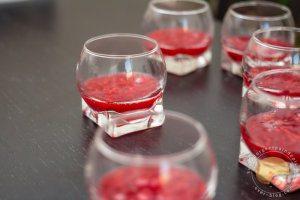 Un délice de verrine (framboise, spéculoos et mascarpone)