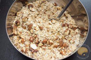 Granola au sésame ou comment faire d'un simple yaourt, un dessert alléchant (sans gluten)